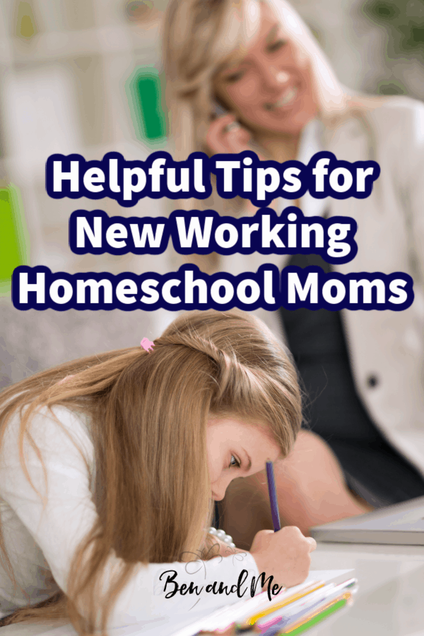 If you a new homeschool mom trying to navigate working and educating your children at home, this post is for you! As a veteran homeschooling mom who has also worked in the midst of it all, there are a few things you should know to help you make the most of this journey. #homeschool #homeschoolmom #WAHM #workingmoms #workathomemoms
