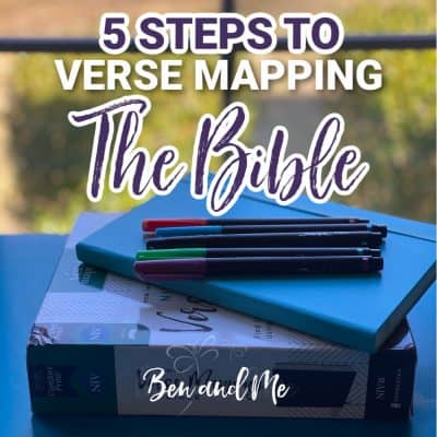 5 Steps to Verse Mapping the Bible