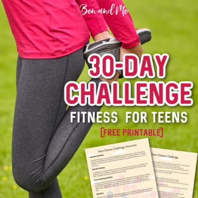 30-Day Fitness Challenge for Teens