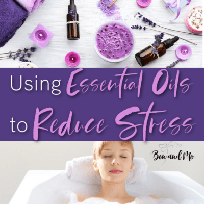 Using Essential Oils to Reduce Stress