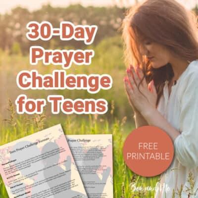 30-Day Prayer Challenge for Teens